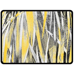 Abstraction Double Sided Fleece Blanket (large)  by Valentinaart