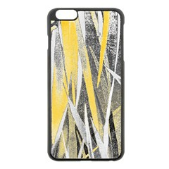 Abstraction Apple Iphone 6 Plus/6s Plus Black Enamel Case by Valentinaart