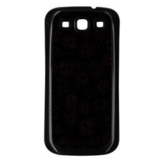 Pattern Samsung Galaxy S3 Back Case (black)