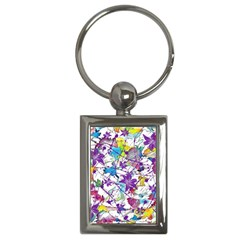 Lilac Lillys Key Chains (rectangle)  by designworld65
