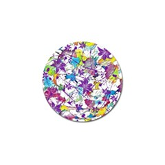 Lilac Lillys Golf Ball Marker (4 Pack)