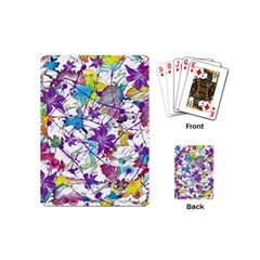 Lilac Lillys Playing Cards (mini)