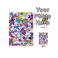 Lilac Lillys Playing Cards 54 (mini)