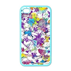 Lilac Lillys Apple Iphone 4 Case (color) by designworld65