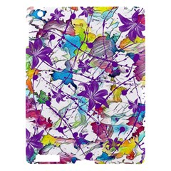 Lilac Lillys Apple Ipad 3/4 Hardshell Case by designworld65