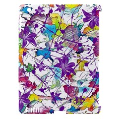 Lilac Lillys Apple Ipad 3/4 Hardshell Case (compatible With Smart Cover)