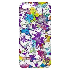 Lilac Lillys Apple Iphone 5 Hardshell Case by designworld65