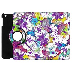 Lilac Lillys Apple Ipad Mini Flip 360 Case by designworld65