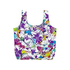 Lilac Lillys Full Print Recycle Bags (s)  by designworld65