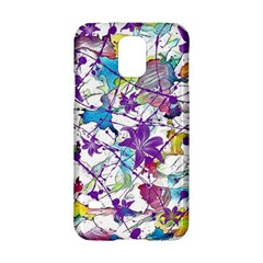 Lilac Lillys Samsung Galaxy S5 Hardshell Case  by designworld65