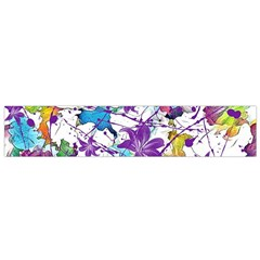 Lilac Lillys Flano Scarf (small)