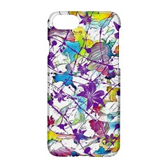 Lilac Lillys Apple Iphone 7 Hardshell Case by designworld65