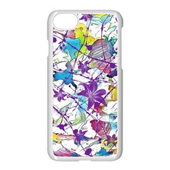 Lilac Lillys Apple Iphone 7 Seamless Case (white)