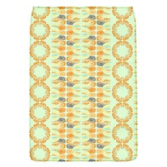 Ethnic Orange Pattern Flap Covers (s)  by linceazul
