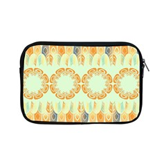 Ethnic Orange Pattern Apple Ipad Mini Zipper Cases by linceazul