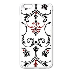 Ornament  Apple Iphone 6 Plus/6s Plus Enamel White Case
