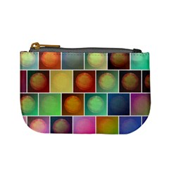 Multicolored Suns Mini Coin Purses by linceazul