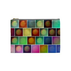 Multicolored Suns Cosmetic Bag (medium)  by linceazul