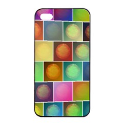 Multicolored Suns Apple Iphone 4/4s Seamless Case (black) by linceazul