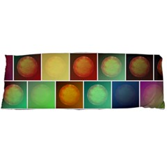 Multicolored Suns Body Pillow Case Dakimakura (two Sides) by linceazul