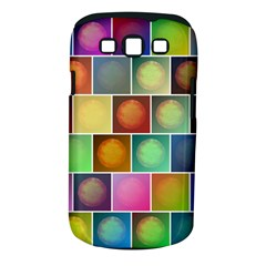 Multicolored Suns Samsung Galaxy S Iii Classic Hardshell Case (pc+silicone) by linceazul