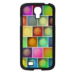 Multicolored Suns Samsung Galaxy S4 I9500/ I9505 Case (black) by linceazul