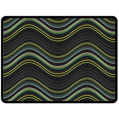 Abstraction Fleece Blanket (large)  by Valentinaart