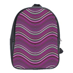 Abstraction School Bags (xl)  by Valentinaart