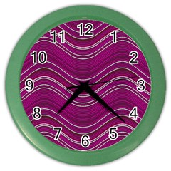 Abstraction Color Wall Clocks by Valentinaart