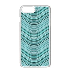 Abstraction Apple Iphone 7 Plus White Seamless Case