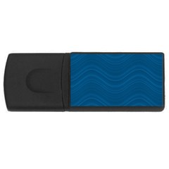 Abstraction Usb Flash Drive Rectangular (4 Gb) by Valentinaart