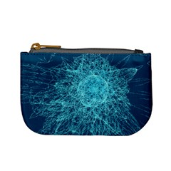 Shattered Glass Mini Coin Purses by linceazul