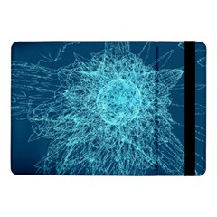 Shattered Glass Samsung Galaxy Tab Pro 10 1  Flip Case by linceazul
