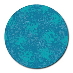 Abstraction Round Mousepads by Valentinaart