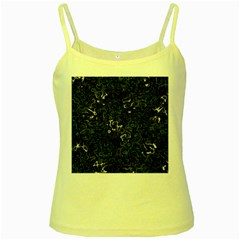 Abstraction Yellow Spaghetti Tank by Valentinaart