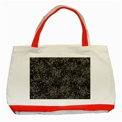 Abstraction Classic Tote Bag (red) by Valentinaart