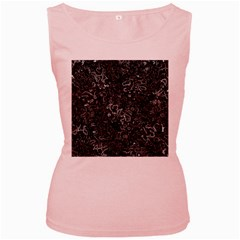 Abstraction Women s Pink Tank Top