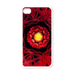 The Sun Is The Center Apple Iphone 4 Case (white) by linceazul