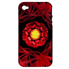 The Sun Is The Center Apple Iphone 4/4s Hardshell Case (pc+silicone) by linceazul