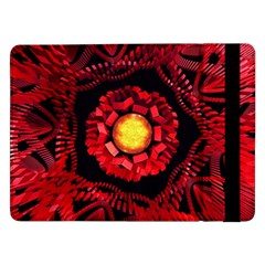 The Sun Is The Center Samsung Galaxy Tab Pro 12 2  Flip Case by linceazul