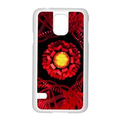 The Sun Is The Center Samsung Galaxy S5 Case (white) by linceazul
