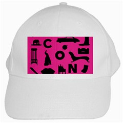 Car Plan Pinkcover Outside White Cap by Mariart