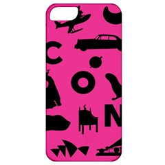 Car Plan Pinkcover Outside Apple Iphone 5 Classic Hardshell Case by Mariart