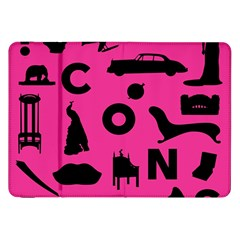 Car Plan Pinkcover Outside Samsung Galaxy Tab 8 9  P7300 Flip Case by Mariart