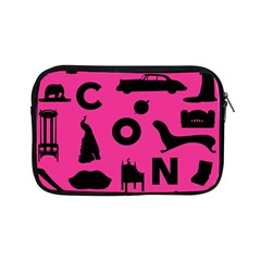 Car Plan Pinkcover Outside Apple Ipad Mini Zipper Cases