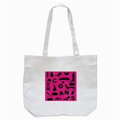 Car Plan Pinkcover Outside Tote Bag (white) by Mariart
