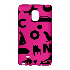 Car Plan Pinkcover Outside Galaxy Note Edge by Mariart
