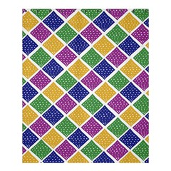 African Illutrations Plaid Color Rainbow Blue Green Yellow Purple White Line Chevron Wave Polkadot Shower Curtain 60  X 72  (medium)  by Mariart