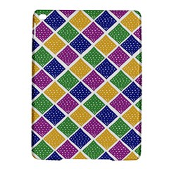 African Illutrations Plaid Color Rainbow Blue Green Yellow Purple White Line Chevron Wave Polkadot Ipad Air 2 Hardshell Cases by Mariart