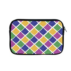 African Illutrations Plaid Color Rainbow Blue Green Yellow Purple White Line Chevron Wave Polkadot Apple Macbook Pro 13  Zipper Case by Mariart